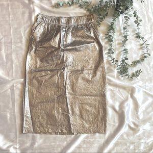 Stussy Metalic Midi Skirt